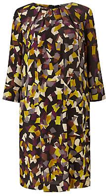 Scattered Shapes Dress, Multi