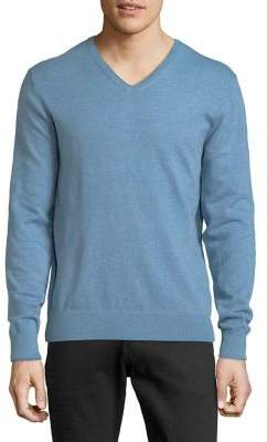 Black & Brown Black Brown Classic V-Neck Sweater