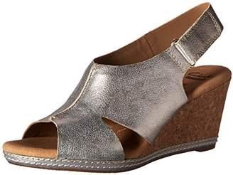 Clarks Women's Helio Float Wedge Sandal