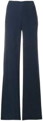 Giorgio Armani high-waist flared trousers