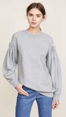 Victoria Beckham Victoria Cartridge Pleat Sweatshirt