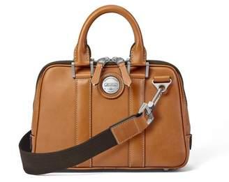 Aspinal of London Aerodrome Mini Mission Bag In Smooth Tan