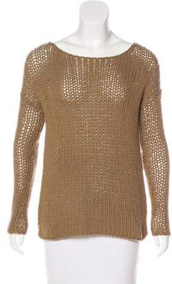 Vince Wool Rib Knit Sweater