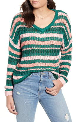 MinkPink Remy Stripe Sweater