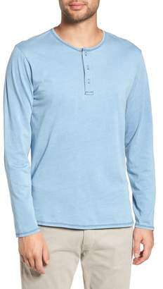 Goodlife Split Hem Henley Shirt