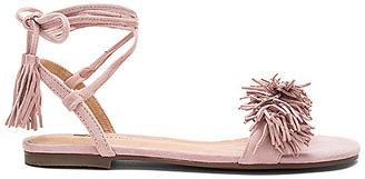 Matiko Delilah Sandal in Blush $128 thestylecure.com