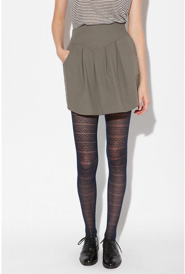 Geren Ford Hawks by Seamed Puff Skirt