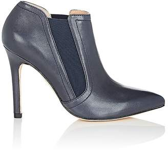 Halston WOMEN'S WENDY LEATHER ANKLE BOOTS