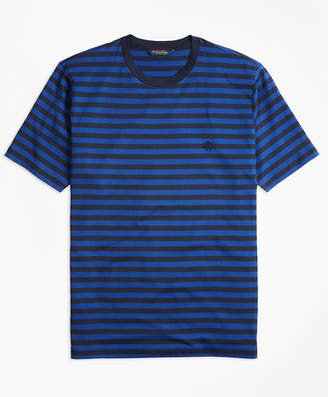 Brooks Brothers Bar Stripe Supima Cotton T-Shirt