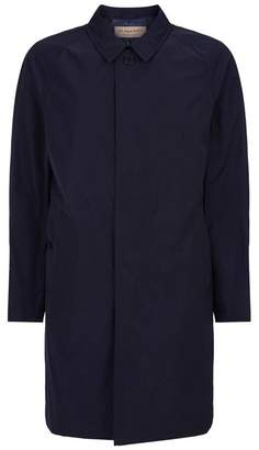 Burberry Longline Coat With Removable Lining