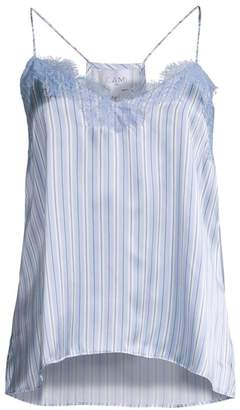 CAMI NYC Stripe Racer Camisole