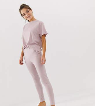 Asos Design DESIGN mix & match marl pyjama jersey legging