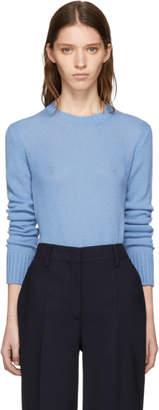 Prada Blue Cashmere Sweater