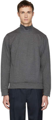 Kolor Grey Plain Turtleneck