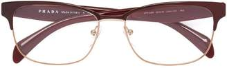 Prada square shaped glasses