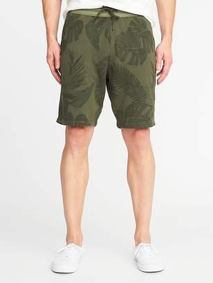 Old Navy Printed French-Terry Drawstring Shorts for Men - 9 inch inseam