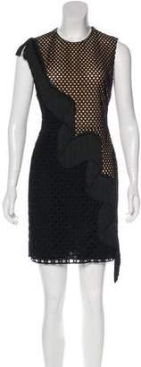 Stella McCartney Fringe-Accented Mini Dress