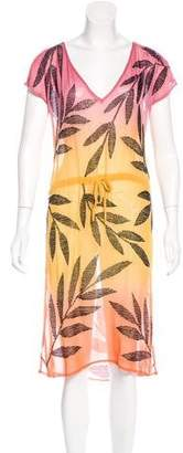 Matthew Williamson Silk Embellished Dress
