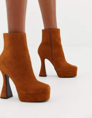 5bb3f907f81 Asos Design DESIGN Equality suede platform boots