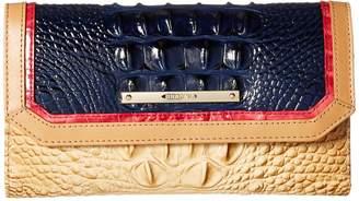 Brahmin Soft Checkbook Wallet Wallet Handbags