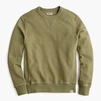 J.Crew Wallace & Barnes garment-dyed crewneck sweatshirt