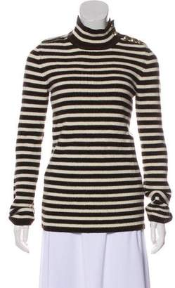 Bouchra Jarrar Striped Knit Sweater