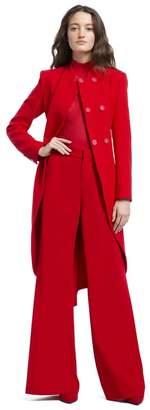 Alice + Olivia Karley Mock Neck Wrap Coat