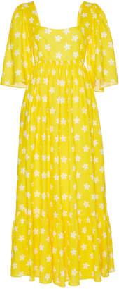 Gül Hürgel Jasmine Tied Back Midi Dress