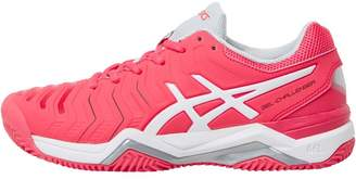 Asics Womens Gel Challenger 11 Tennis Shoes Rouge Red/White/Glacier Grey