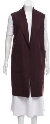 Alexander Wang Longline Virgin Wool Vest