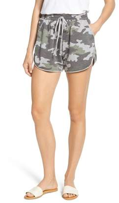 Caslon Camo Knit Shorts