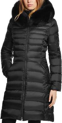 Dawn Levy Milly Fur Trim Puffer Coat