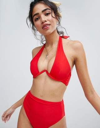 New Look V Wire Bikini Top