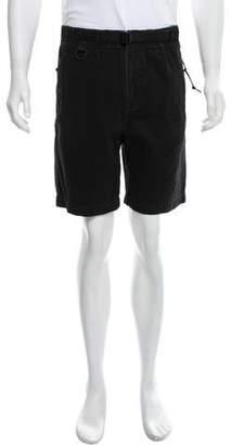 Alexander Wang Woven Denim Shorts