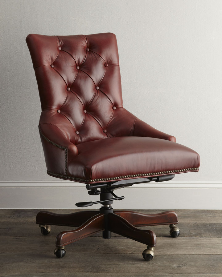 "Horchow ""Gavin"" Office Chair"