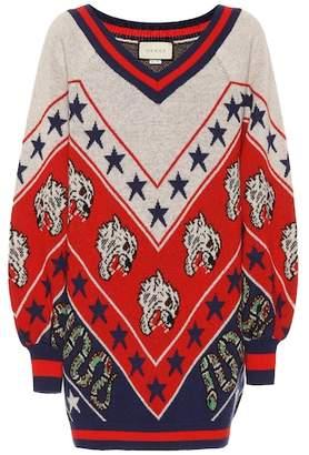 Gucci Oversized wool sweater