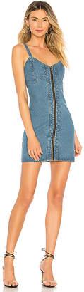Understated Leather x REVOLVE City Slicker Denim Mini Dress.