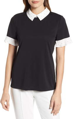 Karl Lagerfeld Paris Embellished Knit Top
