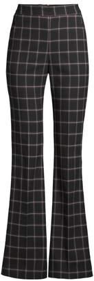 Rebecca Vallance Peta Windowpane Flare Pants