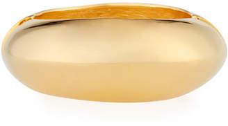 Kenneth Jay Lane Tapered Golden Hinge Bracelet