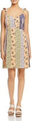 Vero Moda Ainslie Mixed Print Dress $49 thestylecure.com