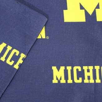 NCAA Kohl's Michigan Wolverines Printed Sheet Set - Twin