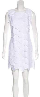 Emporio Armani Tiered Shift Dress