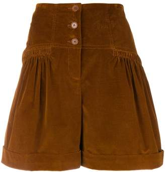 Alberta Ferretti high waisted shorts