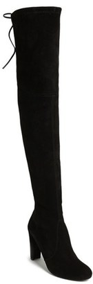 Women's Stuart Weitzman 'Highland' Over The Knee Boot $798 thestylecure.com