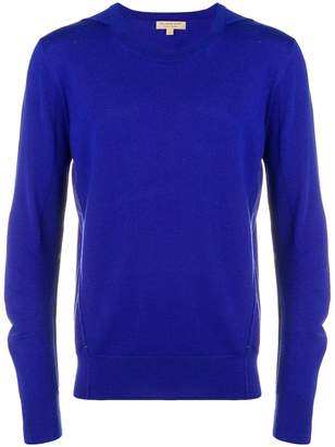 Burberry fine knit crew neck sweater