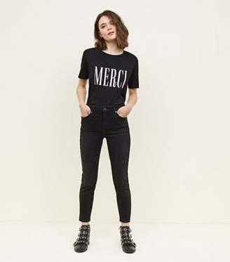 New Look Black Rinse Wash Skinny Jenna Jeans