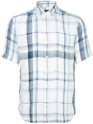Durban D'urban plaid short sleeved shirt