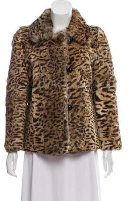 Isabel Marant Rabbit Fur Jacket