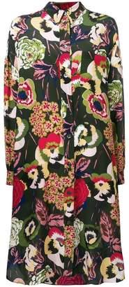 Aspesi floral shirt dress